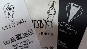garment labels create your label fabric colours