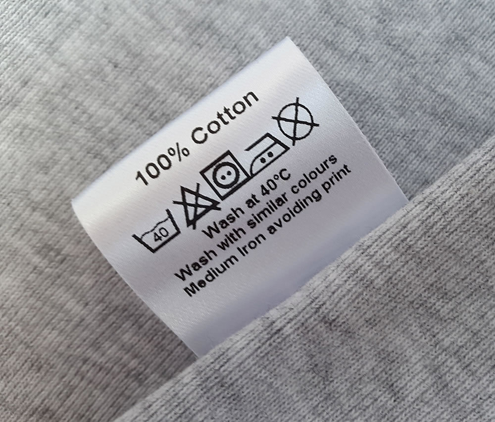 Sew On Labels For Your Clothing & Fabric Items