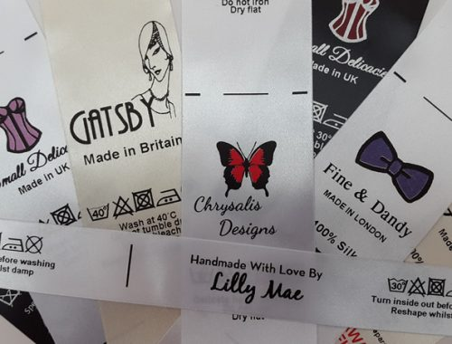 garment care labels examples